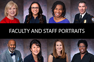 faculty and staff portraits