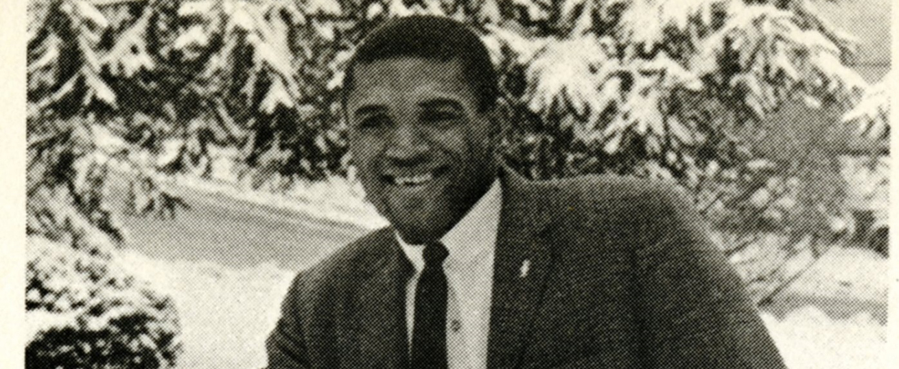 Norm Early at AU in 1967