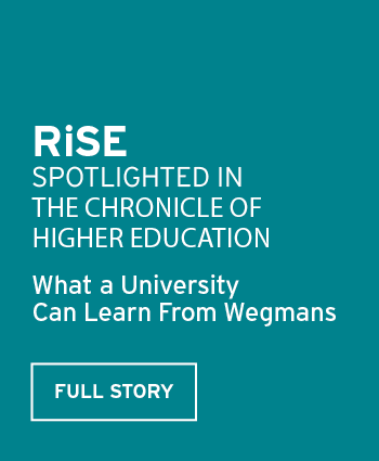 Reinventing the Student Experience spotlighted in the Chronicle of Higher Education