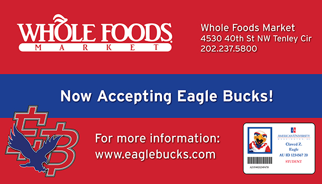 Whole Foods Market: Now Accepting EagleBucks!