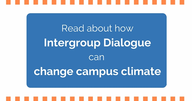 Read about how intergroup dialogue can change campus climate