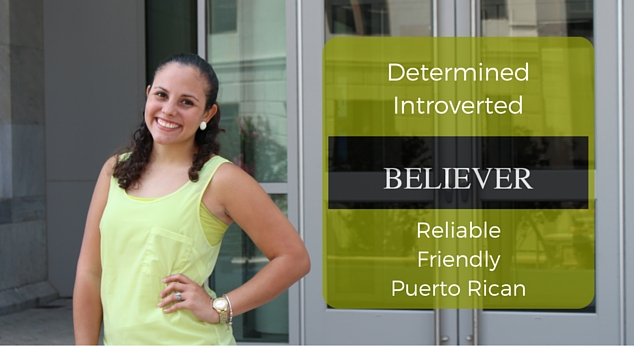 Girl pictured is determined, introverted, believer, reliable, friendly and Puerto Rican