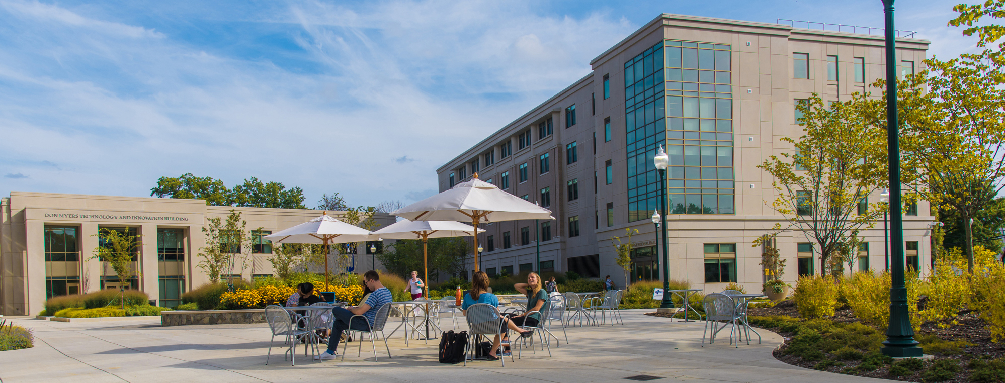 East Campus Commons Outdoor Seating