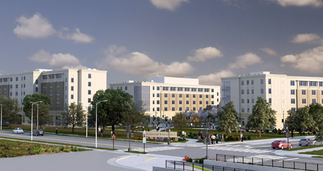 Visualization of East Campus