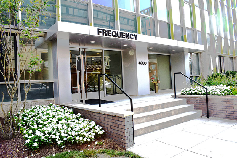 The Frequency Apartments Outdoor Area