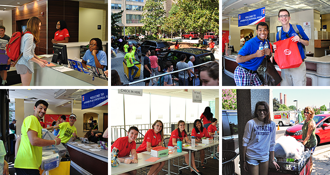 Fall move-in is one of the busiest and most memorable events of the year!