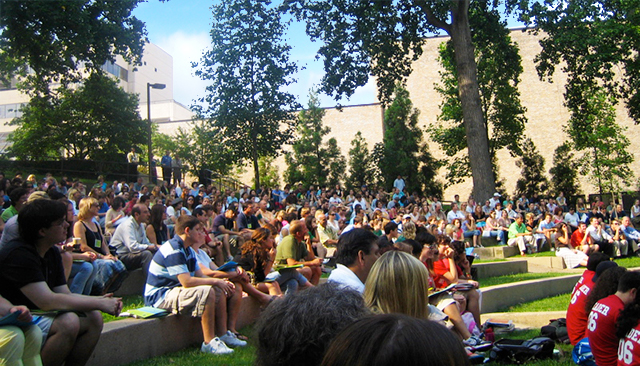 Welcome Week has activities for new and returning students