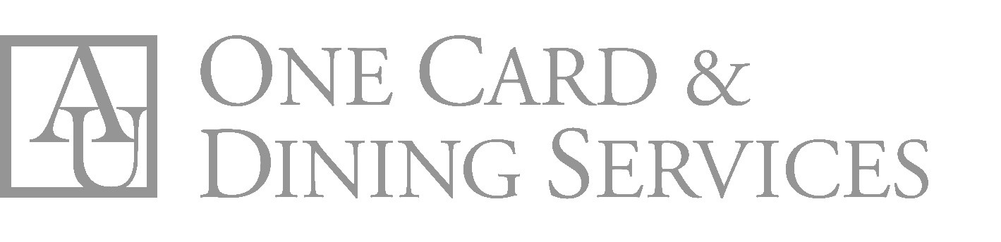 American University One Card and Dining Services