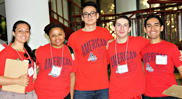 Inernational student orientation leaders