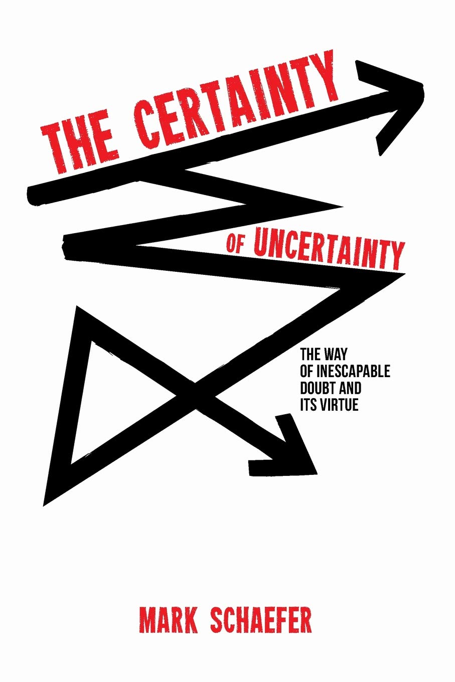 Cover for the book, The Uncertainty of Certainty by Mark Schaefer.