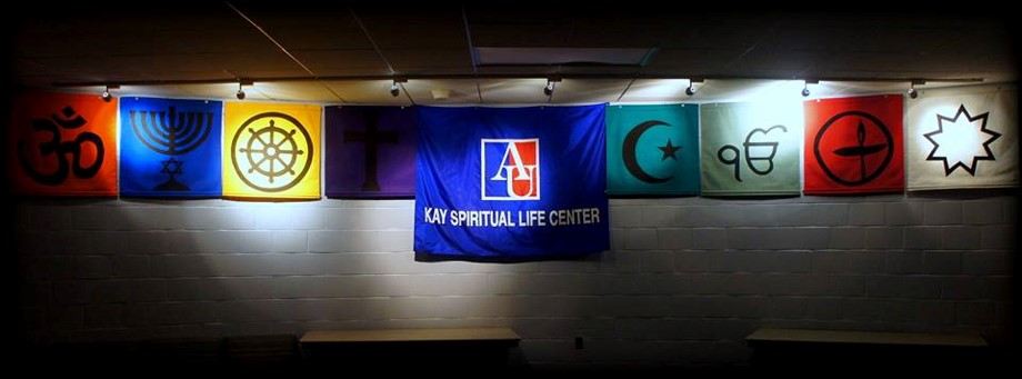 Banner of Religions in Kay Lounge