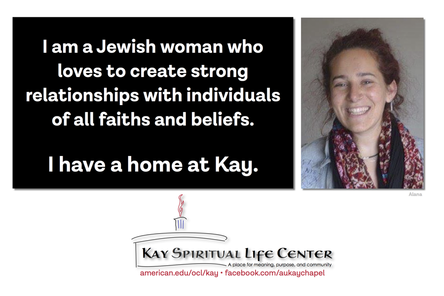 I am a Jewish woman who loves to create strong relationships with individuals of all faiths and beliefs. I have a home at Kay.