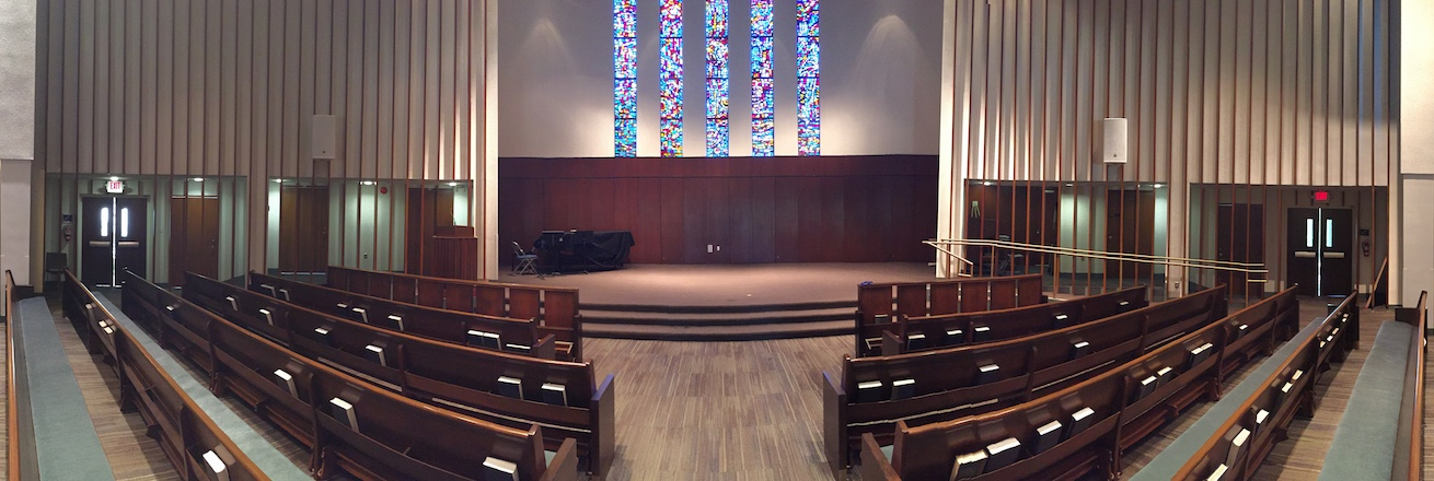 Panorama of Kay Chapel Interior