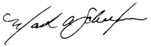 Rev. Schaefer's Signature
