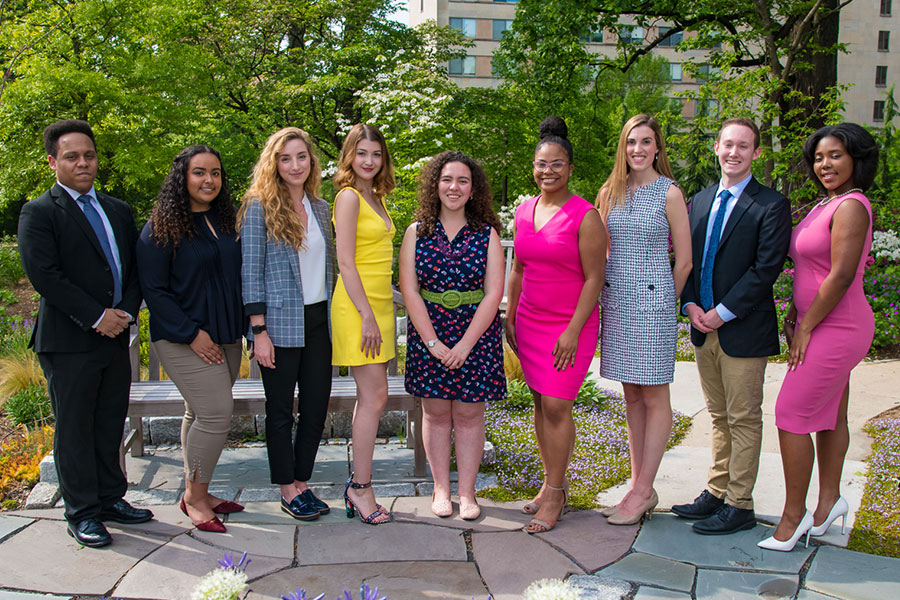 2019 Student Achievement Award recipients