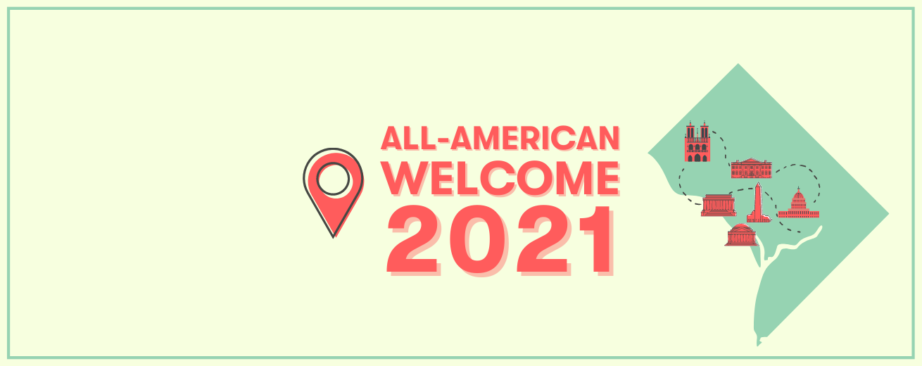 All-American Welcome 2021 - Web banner