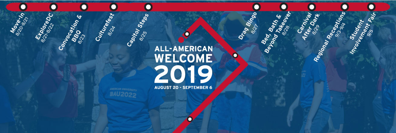 All-American Welcome 2019 Featured Events