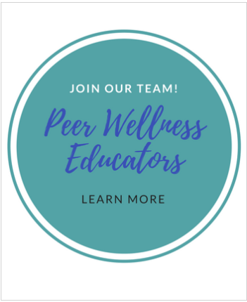 Join our team. Peer Wellness Education, learn more.