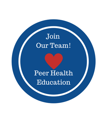 Join our team. Peer Health Education, learn more