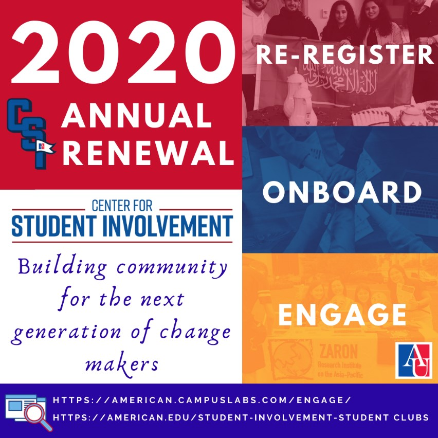 2020 Annual Renewal Flyer Renew, Onboard, Engage