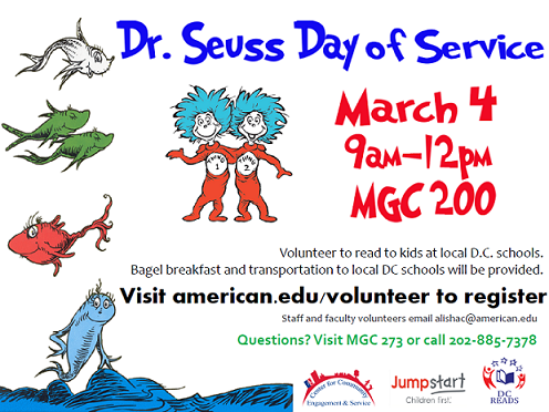 Dr Seuss Day of Service