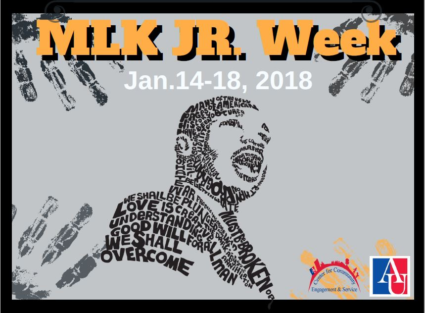 MLK Jr. Week January 14-18