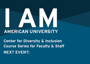 I Am Diveristy and Inclusion Series for Faculty and Staff