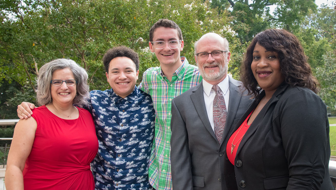 Leadership for the President's Council on Diversity and Inclusion and its Student Advisory Council: Ximena Varela,Sabrina-Yvette D'Almeida, Jeff Rutenbeck, Eric Brock, and Rafael Cistero