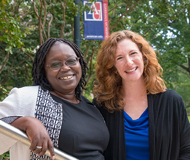 Drs. Fanta Aw and Amanda Taylor lead the cross-campus collaboration on Inclusive Excellence