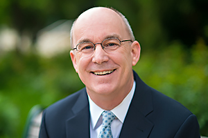 Photo of Peter Starr, interim provost