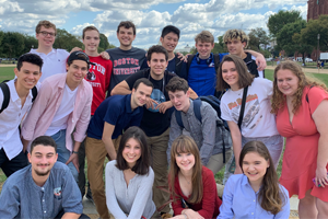 Fall 2019 Gap Students on a site visit