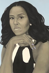 Portrait of First Lady Michelle Obama