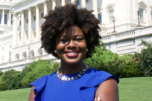 Washington Semester notable alumna Jheanelle Wilkins