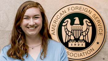 Washington Semester student ambassador Molly Quilin