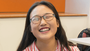 Washington Semester student Tracy Hanqing