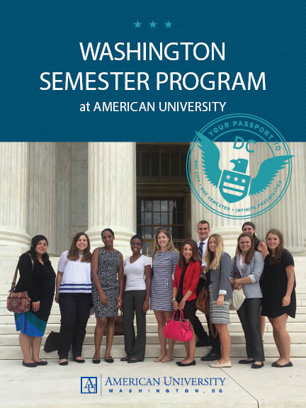 Washington Semester Program at American University