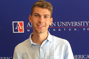 Wolf Weimer, Washington Semester Program student