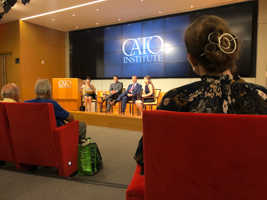 Washington Semester Program Students on a Site Visit at the CATO Institute