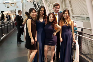 AU Founder's Ball 2019 at Air Space Museum in Virginia