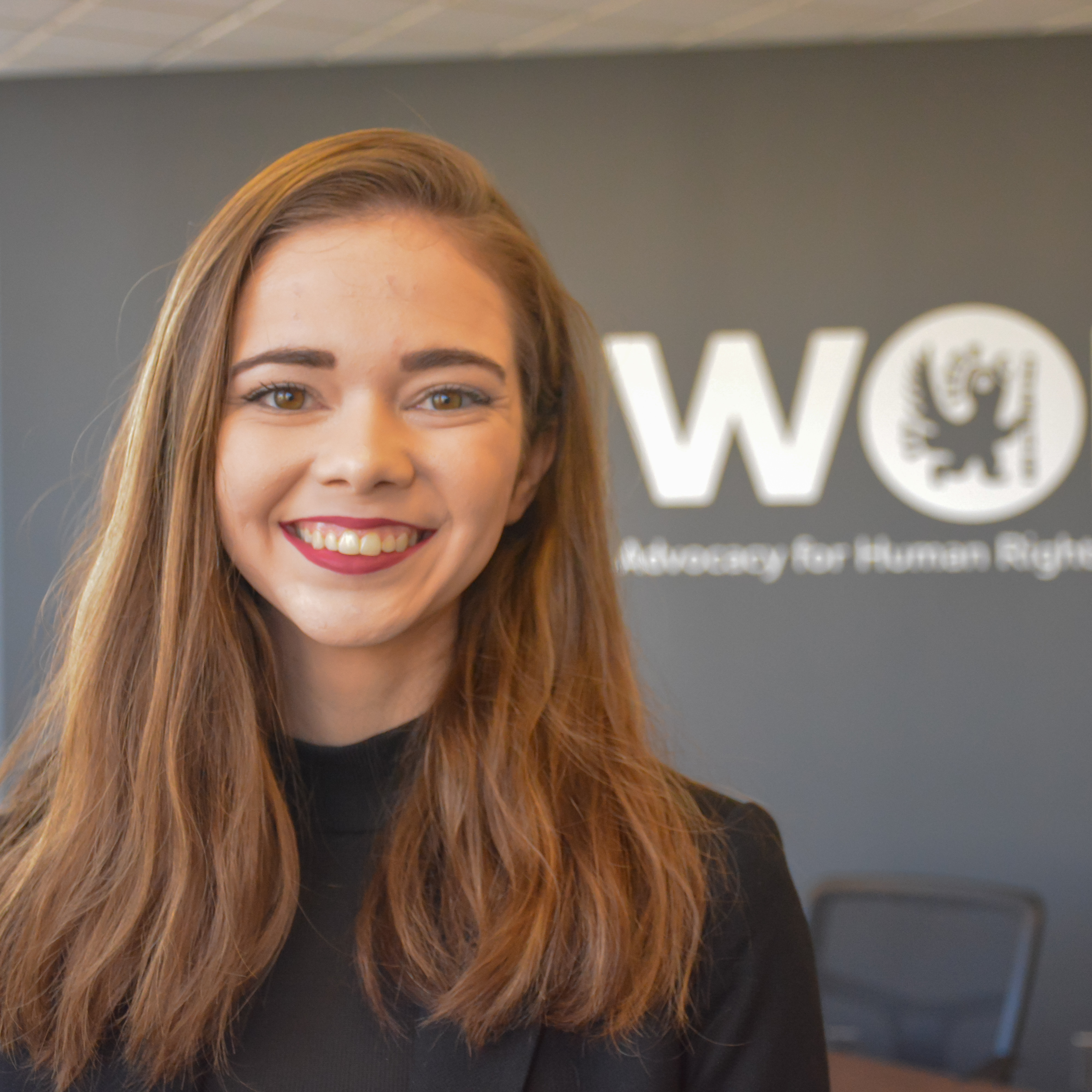 Washington Semester Ambassador Sarah Coker at WOLA