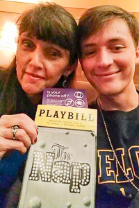 Ethan at a Broadway play
