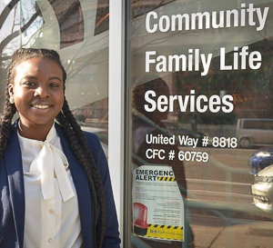 Antonia at Community Family Life Services in Washington, DC