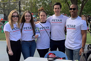 Jessica with colleagues at a Petar for Ward 3 campaign