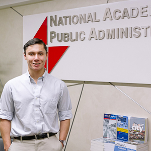 Washington Semester Program student ambassador Stephan Stavrou
