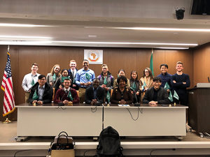 Hyueseung and her class visited the African Union in my Economic Policy class.