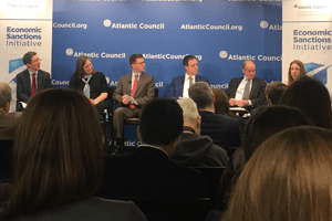 Atlantic Council panel discussion