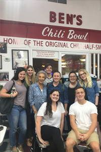 My Sustainable Development class with Virginia Ali, founder of Ben's Chili Bowl