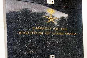 Embassy of the Kingdom of Saudia Arabia