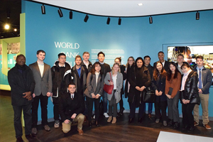 Washington Semester students at the World Bank Group