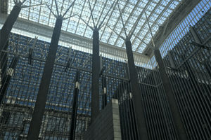 Inside the World Bank building
